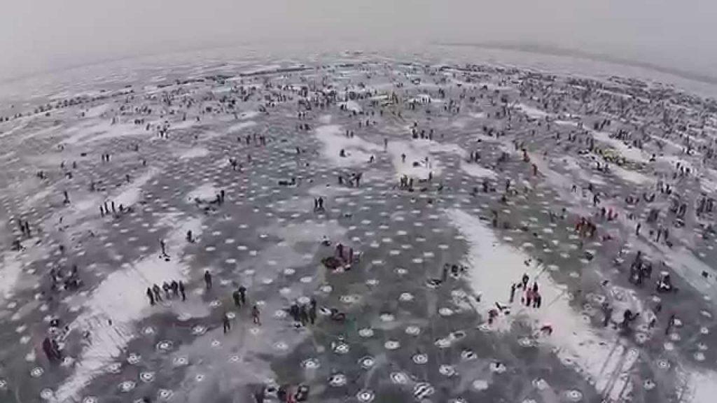 Brainerd mn dronestagram for Brainerd ice fishing