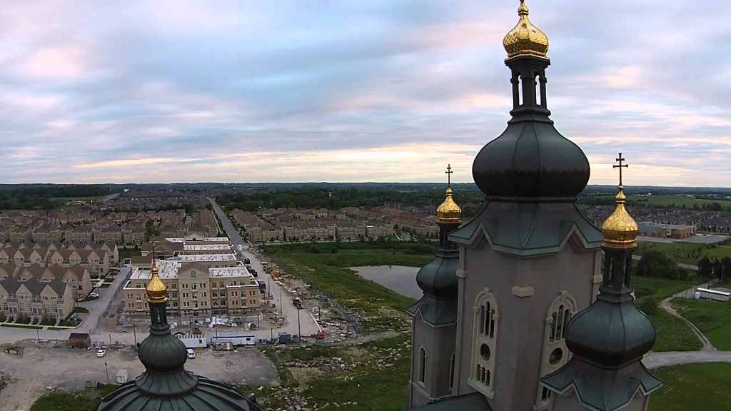 Markham (ON) Canada  City new picture : Cathedral Town Church, Markham, ON, CANADA | Dronestagram