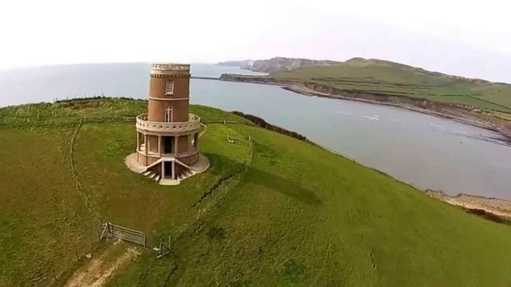 Dorset United Kingdom  city pictures gallery : clavell tower, kimmeridge bay, dorset, united kingdom | Dronestagram