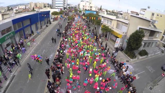 Limassol Carnival Cyprus 2015