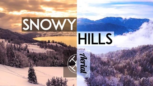 Snowy Hills in Switzerland