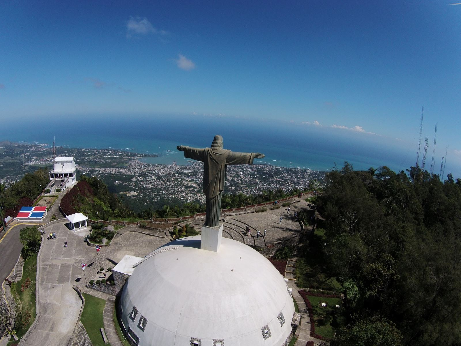 Teleferico puerto plata dominican republic dronestagram for Poto planta