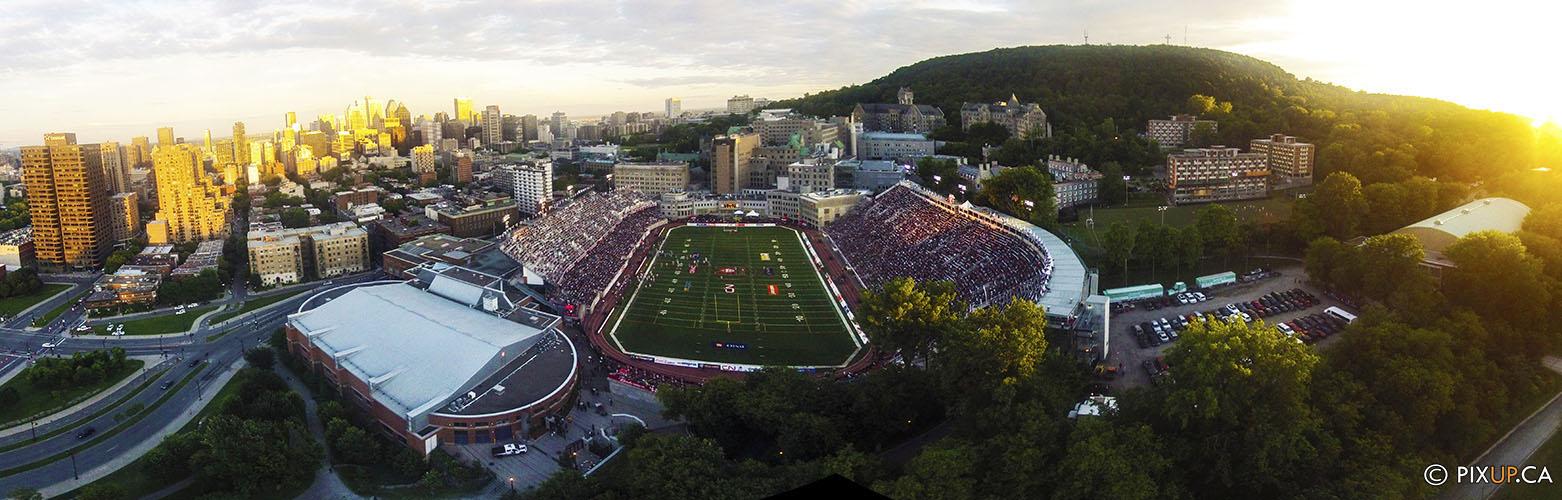 Percival Molson Stadium – Downtow Montreal