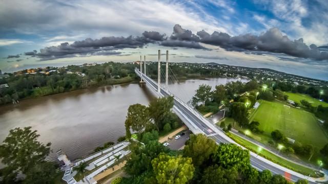 Eleanor Schonell Bridge, Brisbane, Queensland, Australia