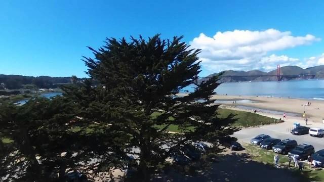 Crissy Field Park, San Francisco, Ca