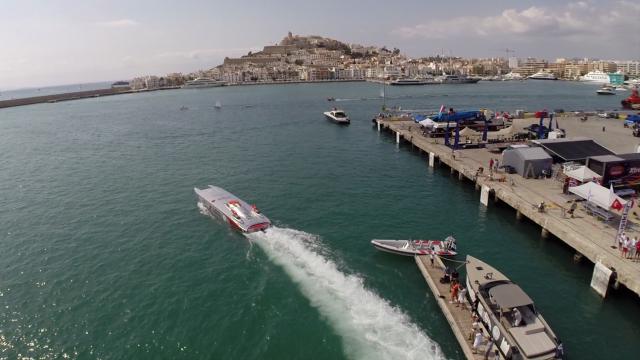 Port of Ibiza, Ibiza, Balearic Island, Spain