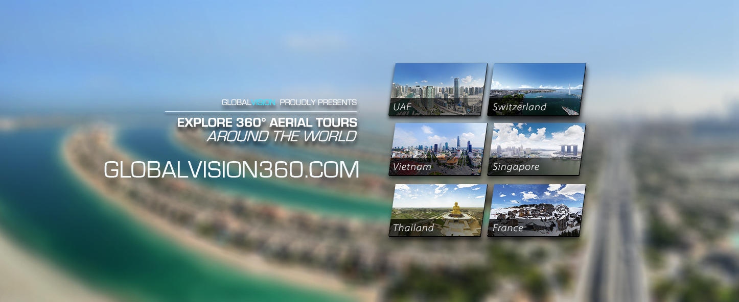 360° Aerial Tours Around The World by GlobalVision
