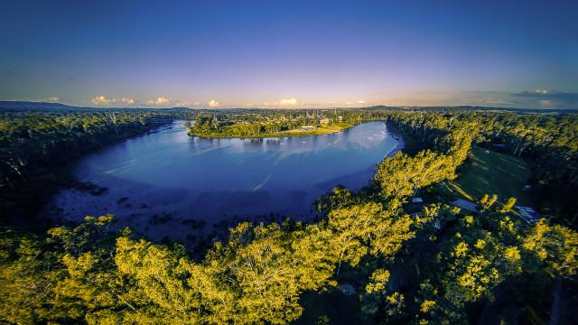 Brisbane River, Bellbowrie, Queensland, Australia