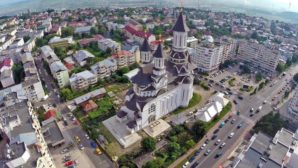 Catedrala Ortodoxă, Bulevardul George Enescu, Suceava ...