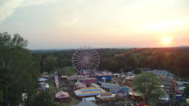 Carnival at sunet, Boonsboro, Maryland