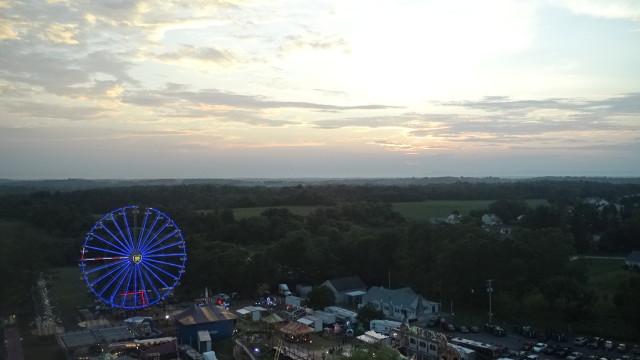 Boonsboro, Maryland Carnival at Sunset