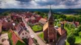 Eglise au pied du chateau de Lichtenberg