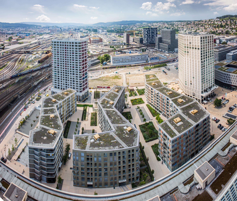 PFINGSTWEIDPARK, Industriequartier Zürich-West, Zürich Switzerland
