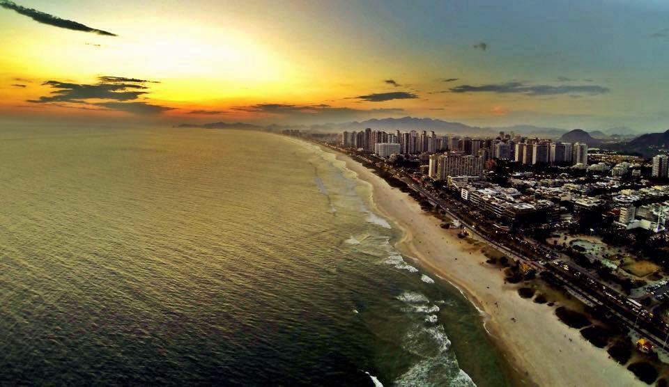 Barra da Tijuca Beach, Rio de Janeiro, Brasil