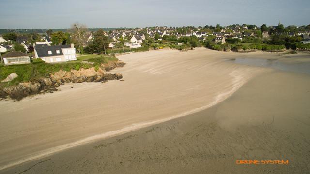 PLAGE DE LA MANCHETTE, Quévert, Côtes d'Armor (22), Bretagne, France