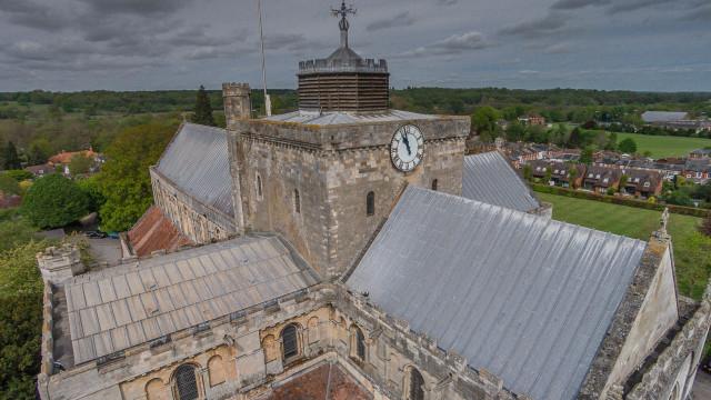 Romsey Abbey, Romsey, Hampshire, UK