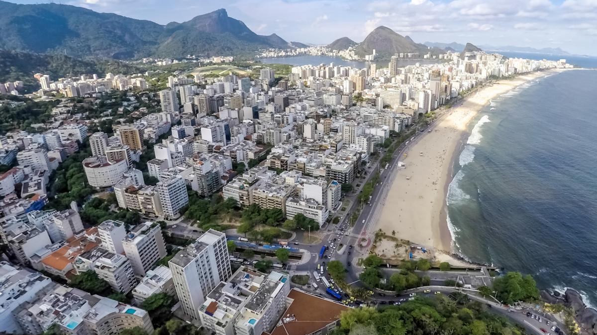 Mirante Do Leblon Rio De Janeiro Brasil Dronestagram
