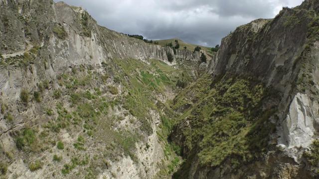 River Toachi's Canyon, Cotopaxi, Ecuador