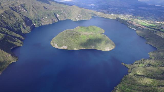 Cuicocha's Lake, Cotopaxi, Ecuador