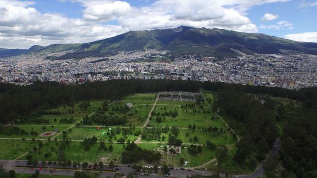 Quito's Metropolitan Park, Pichincha, Ecuador