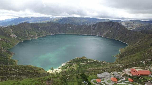 Quilotoa's Lake, Cotopaxi, Ecuador