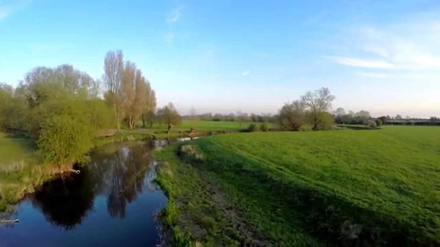 The River Great Ouse, Stony Stratford, Buckinghamshire, UK
