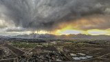 Thunderstorm starts fires in Nevada