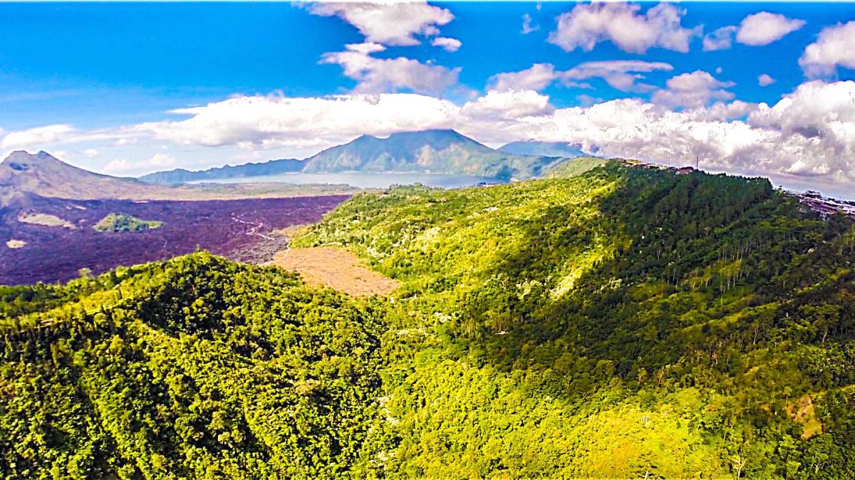 Kintamani Volcano, Bali, Indonesia