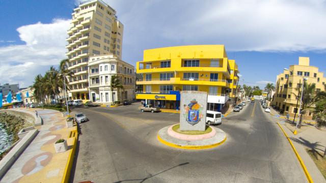Paseo del Centenario, Mazatlan, Sinaloa, Mexico