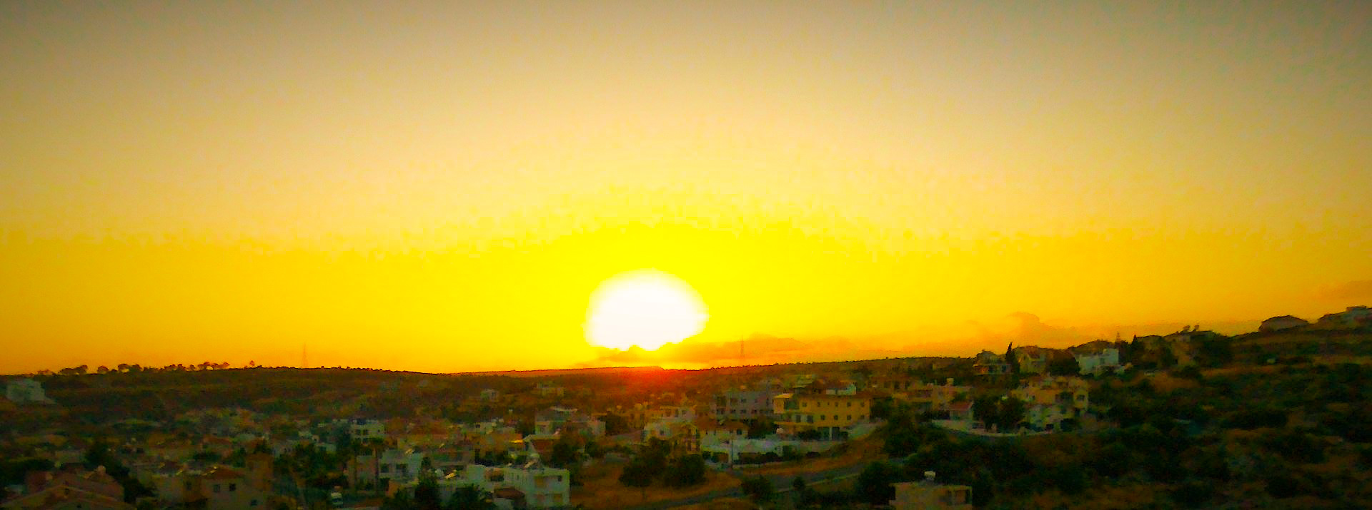 Sunset Ayia Phyla Cyprus