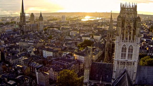 Abbatiale St Ouen, Rouen, France