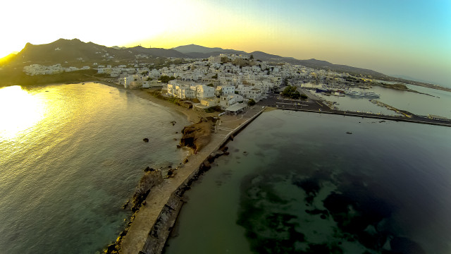 Naxos Island-Greece.