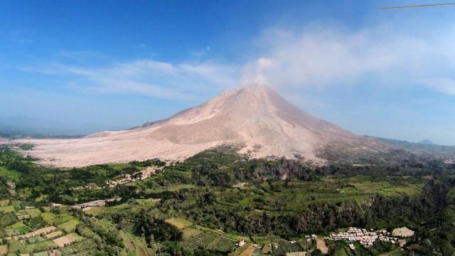 Mount Sinabung, Karo, North Sumatera, Indonesia