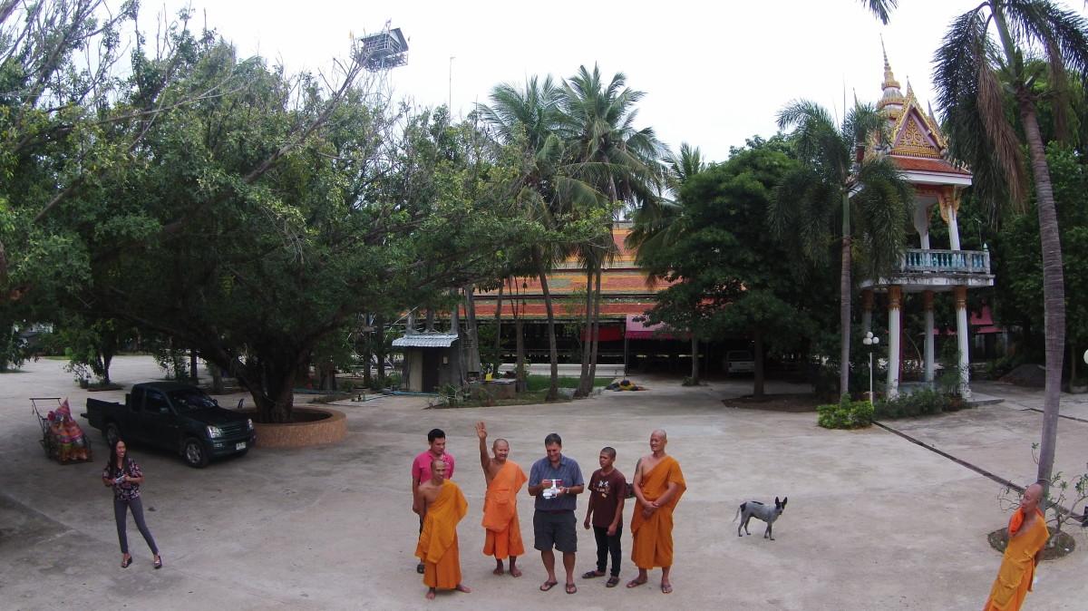 Sanam Yae Temple, Kanchanaburi, Thailand