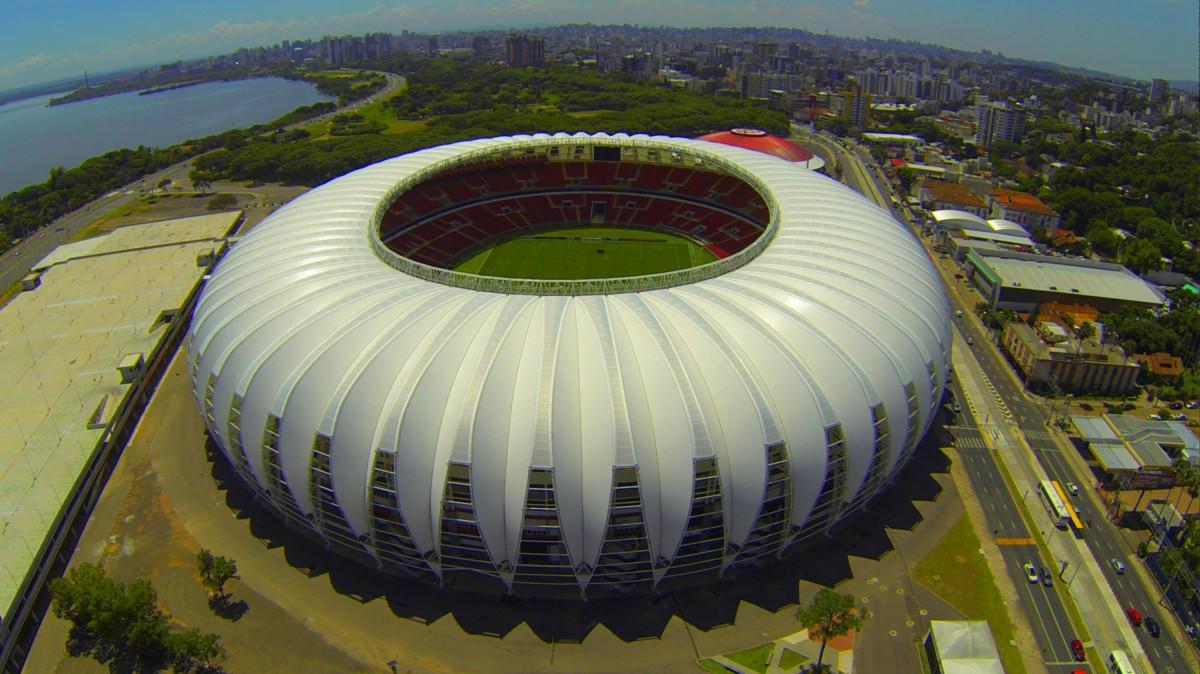 Estádio Beira Rio, Porto Alegre, Rio Grande do Sul, Brasil