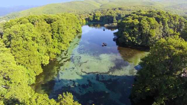 Izvori Sveti Naum Ohrid Lake