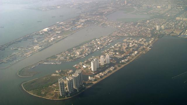 Jakarta Bay, Indonesia