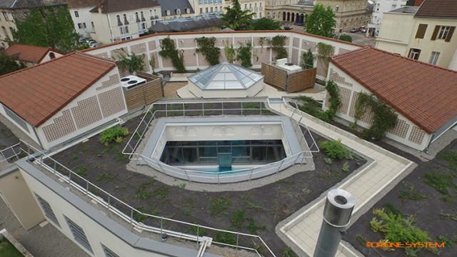 Les NÉRIADES, à Néris les bains, Allier, Auvergne, France