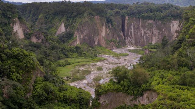 Ngarai Sianok (Sianok Canyon), bukittinggi, west sumatra, Indonesia