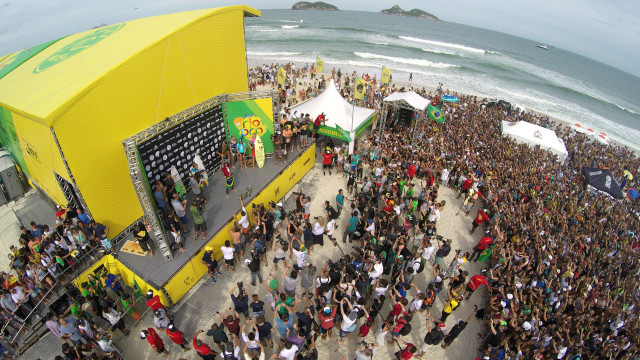 Word Surf League Event, Rio de Janeiro, Brazil