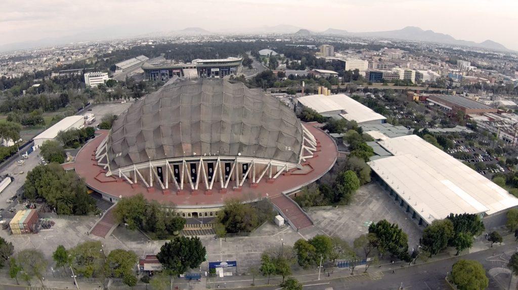 Palacio de los deportes sports arena m xico d f for Palacio de los azulejos mexico