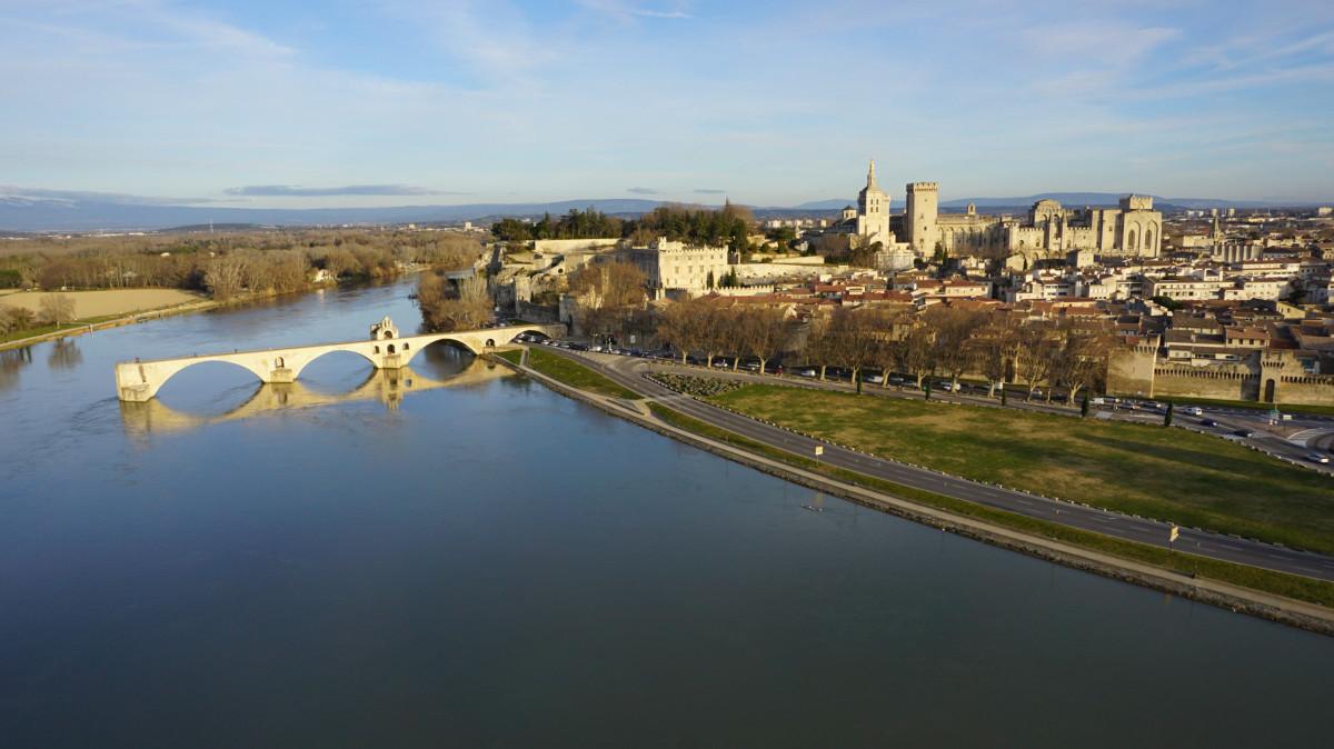 Palais des Papes et Pont d'Avignon, Avignon