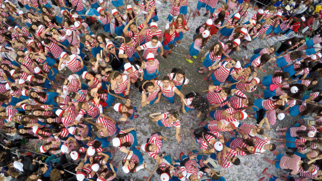 Where's Wally? Limassol Carnival Cyprus