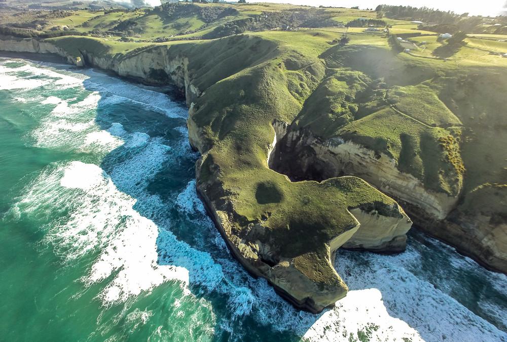 near Tunnel Beach, Dunedin, New Zealand