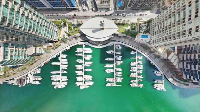 Dubai Marina From The Sky