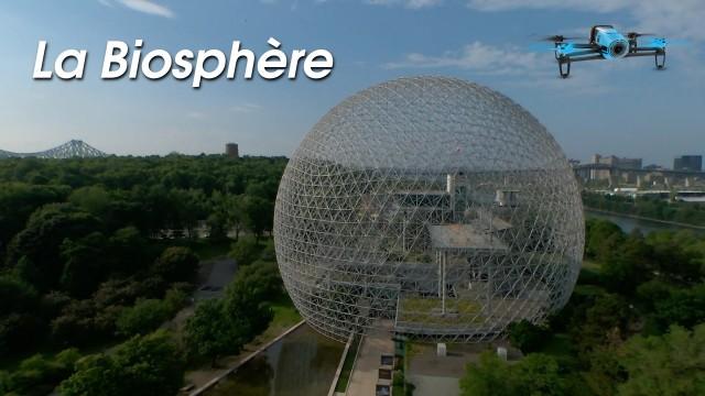 Biosphère, Île Ste-Hélène, Montréal, Qc, Canada