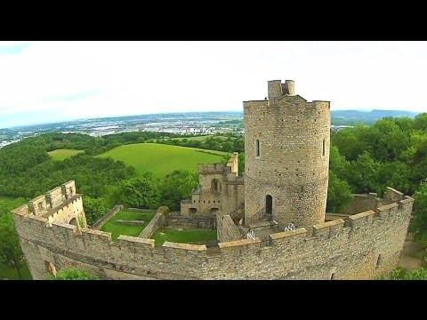 Castle of Saint Quentin Fallavier – Isère – France
