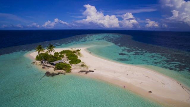 Uninhabited Island, The Maldives