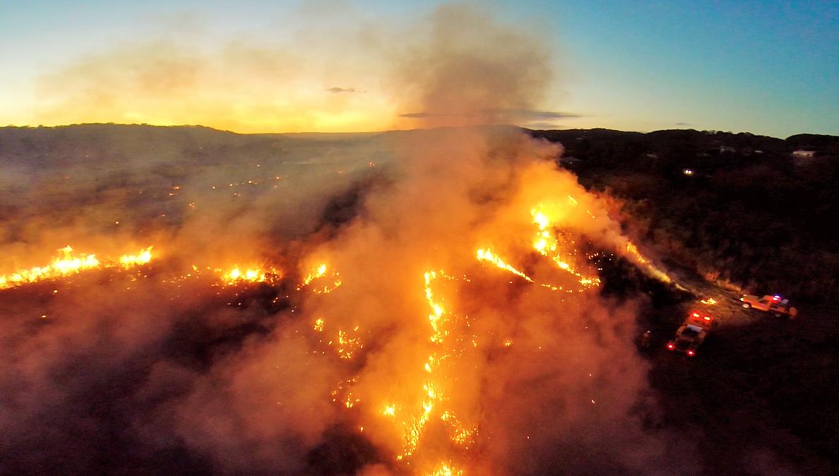 Brisbane Fires Australia