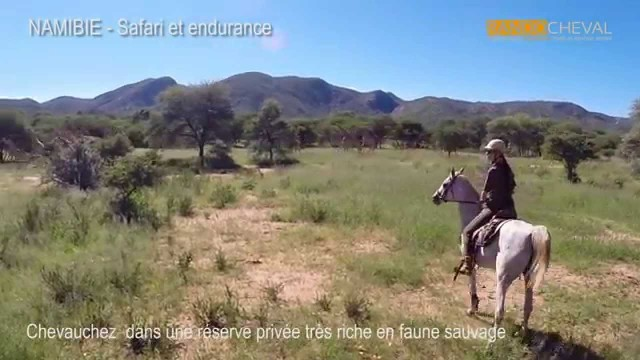 Horse riding safari, Namibia